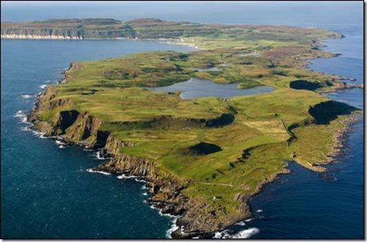 Ireland-Rathlin-Island L Shape